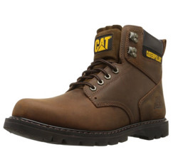 CAT 卡特彼勒 2nd Shift Plain Soft Toe Boot 6英寸 男士工装靴