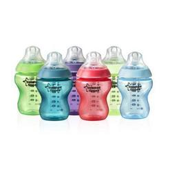 tommee tippee 汤美天地 Closer to Nature Fiesta PP奶瓶(260ml*6支)