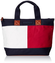 TOMMY HILFIGER Flag Colorblock Shopper 女士手提包