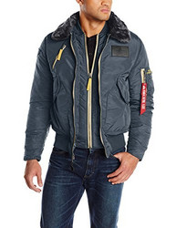 ALPHA INDUSTRIES B-15 Air Frame Flight Jacket 男士飞行员夹克