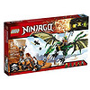 LEGO Ninjago 70593 The Green NRG Dragon Building Kit幻影忍者系列绿色神龙 29.84美元