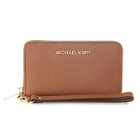 MICHAEL KORS Jet Set Travel系列 32H4GTVE9L-230 女士长款拉链钱包/手包