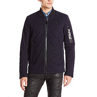 G-STAR Raw Batt Quilted Overshirt 男款拼接外套