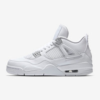 "Air Jordan 4 Retro ""Pure Money"" 男款篮球鞋"