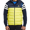 adidas 阿迪达斯 TRAINING M WINTER JACKETS DD90 VEST  男式 拼色羽绒背心 279元