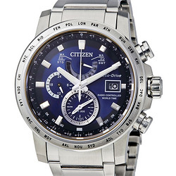 CITIZEN 西铁城 World Time A-T Perpetual AT9070-51L 男款光动能腕表